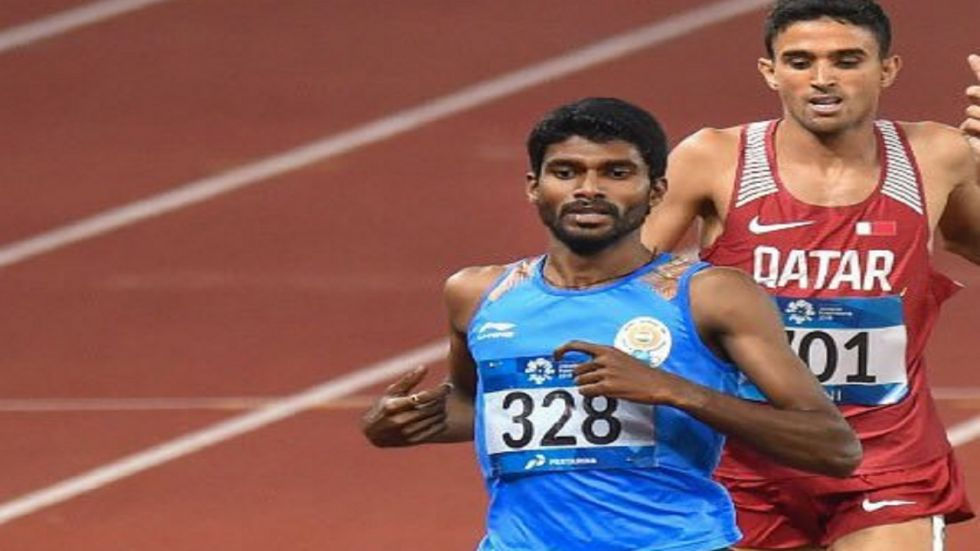 Jinson Johnson has qualified for the Tokyo 2020 Olympics but he failed in the World Athletics Championships.