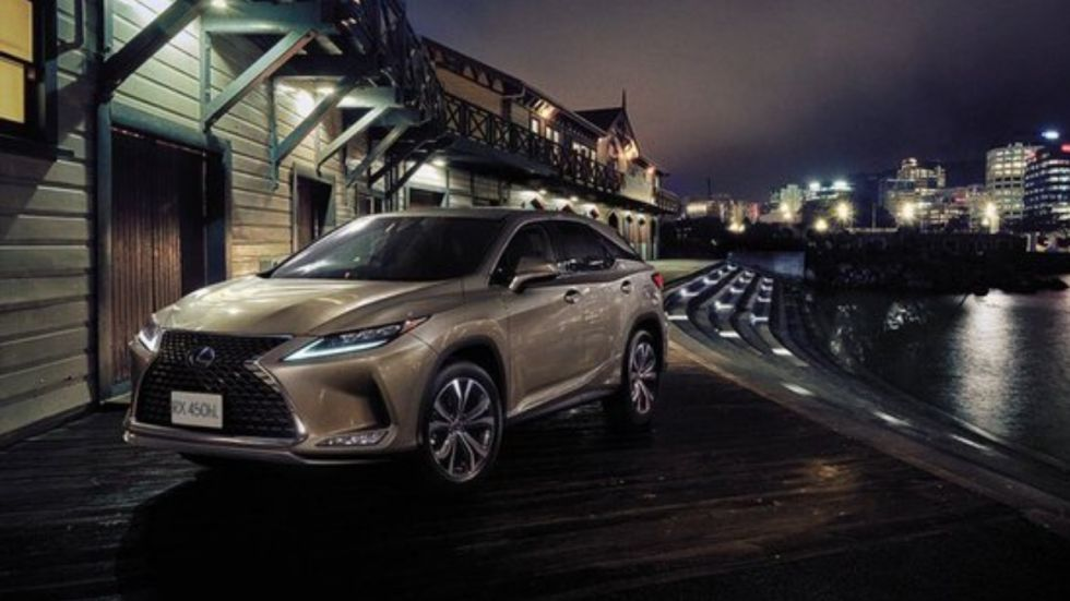 Lexus RX450hL launched in India