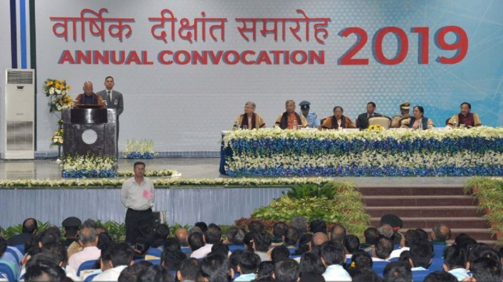 President Ram Nath Kovind Awards Medals To 9 Students At IIT Roorkee Annual Convocation.