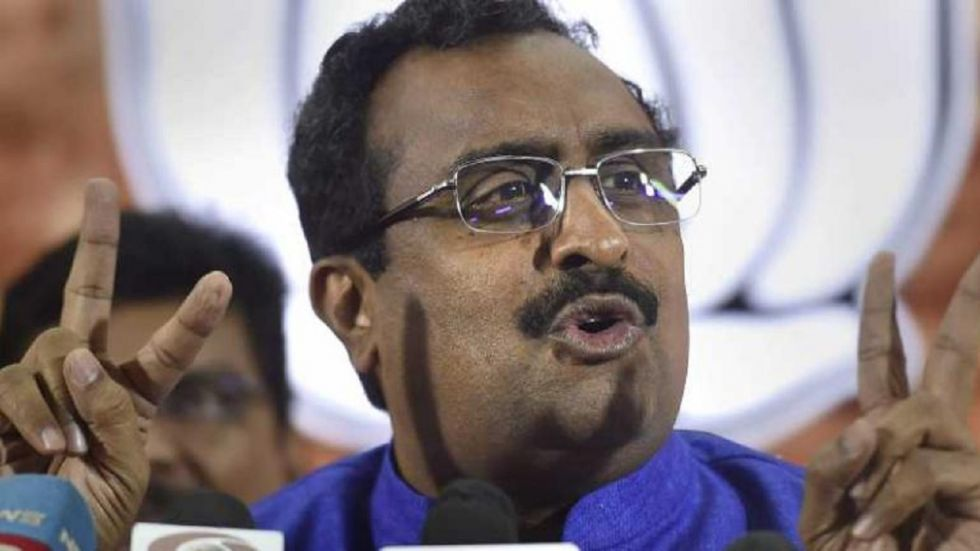 The state was largely quiet barring a few incidents with 200 people in jail, Ram Madhav claimed.
