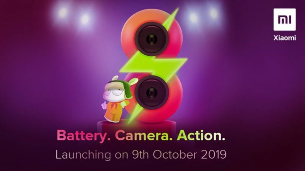 Redmi 8 Launch On October 9
