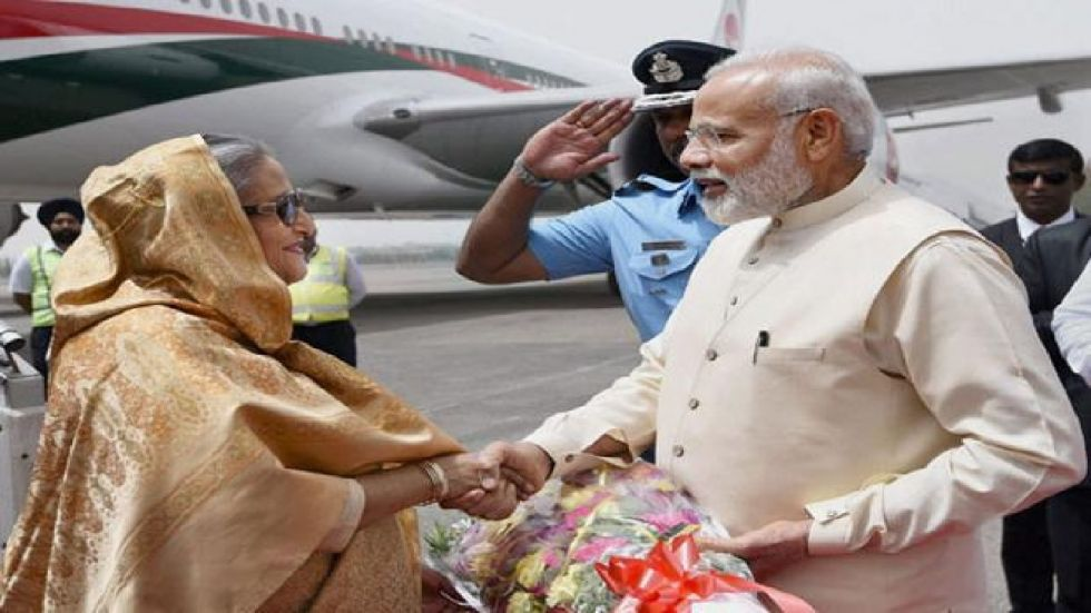 Sheikh Hasina is on a four day visit to India.