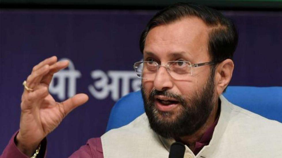 Prakash Javadekar said that people had also protested felling of trees for Delhi Metro