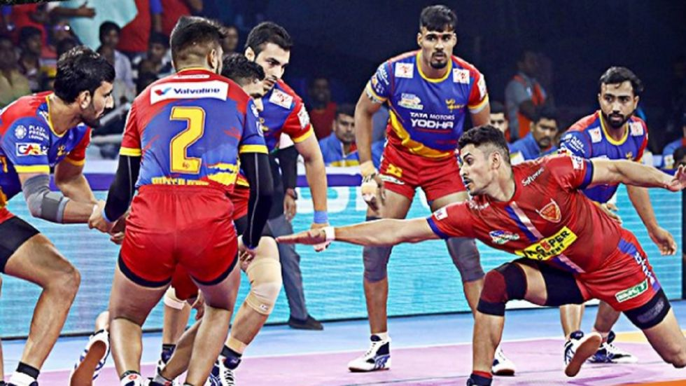 Pro Kabaddi League: UP Yoddha beat Dabang Delhi KC 50-33