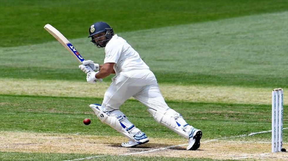 Rohit Sharma hit the most sixes by an Indian in a Test match during the Vizag match against South Africa.