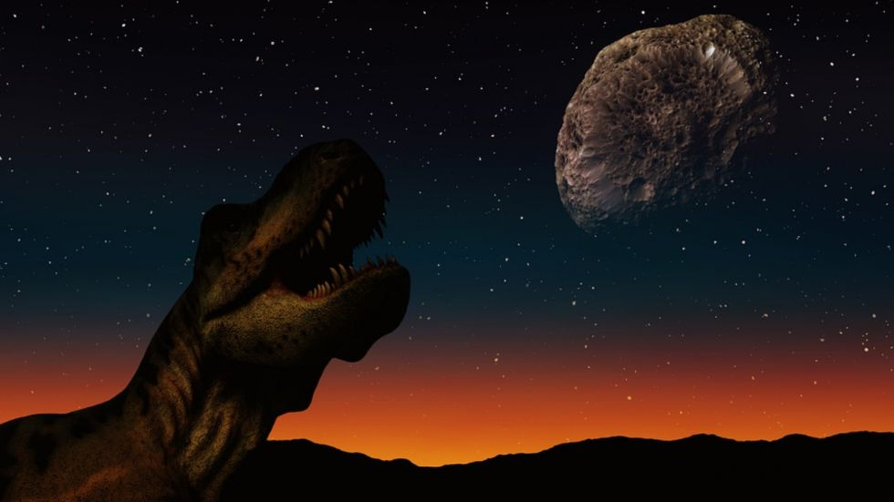 Dinosaurs Were Boiled Alive In Asteroid Impact Over 66 Million Years Ago
