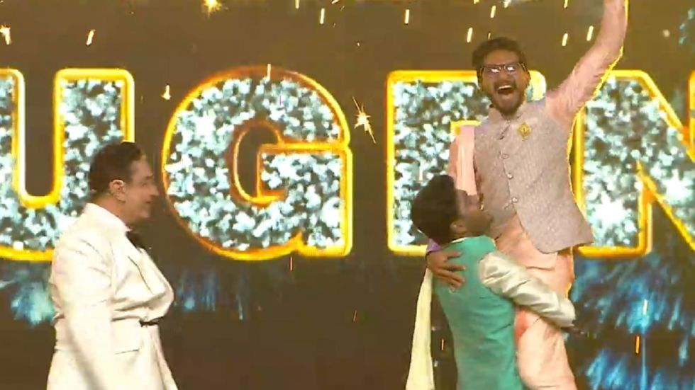 Bigg Boss Tamil 3 Grand Finale: Mugen Rao Beat Sandy Master To Clinch Trophy