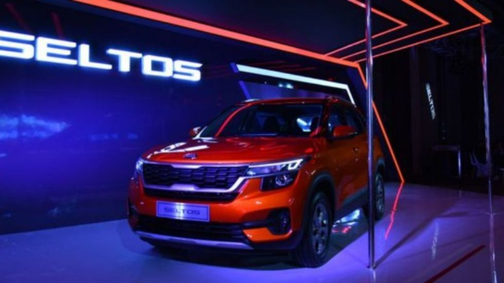 Kia Seltos Registers Record Sales of 7,754 units in September 2019