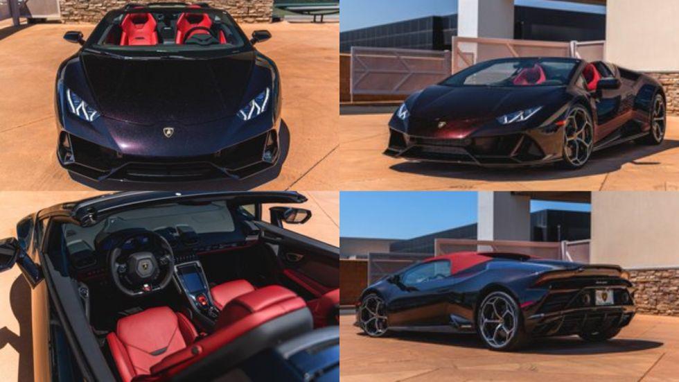 Lamborghini Huracan Evo Spyder Launch In India On October 10