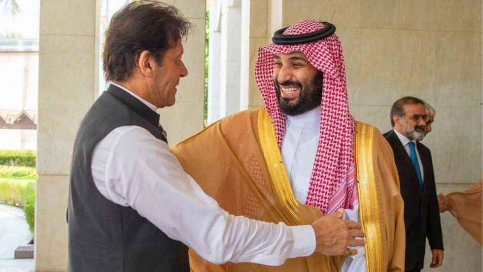 he Saudi crown prince had offered his plane to Imran Khan.