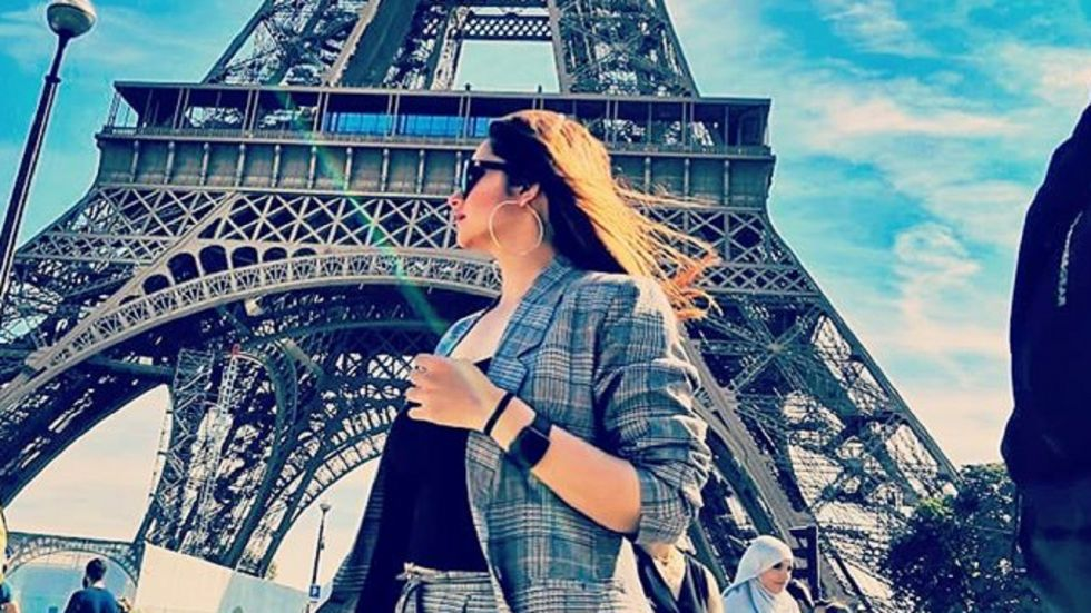 Sania Mirza and her sister Anam Mirza went to Paris apparently on a bachelorette trip.