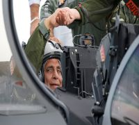 Rajnath Singh Handed Over First Rafale Jet, Describes It 'Unprecedented Moment' After Taking A Sortie