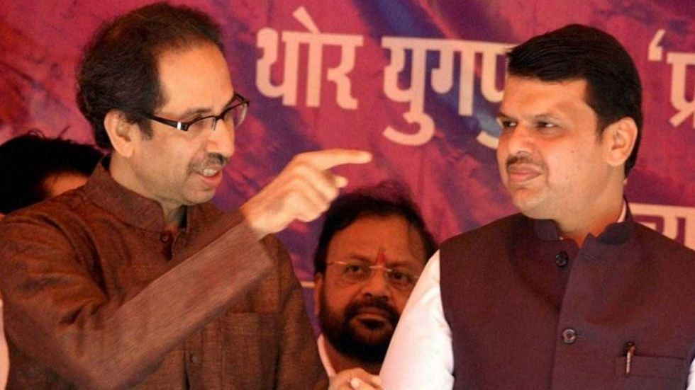 """Uddhav Thackeray said that in an alliance both parties need to tread warily else it could lead to an """"accident""""."""