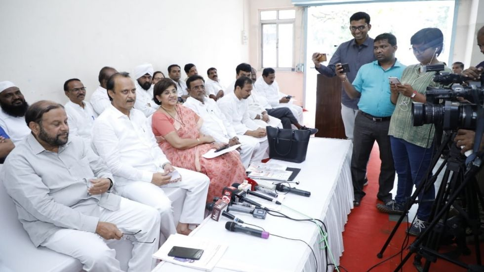 Ajit said that both parties have come together to fight the Maharashtra Assembly elections.