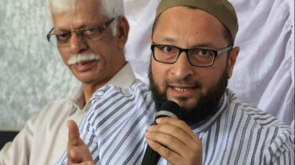 Asaduddin Owaisi also lashed out at Bhagwat's statement that the RSS is firm on its vision that 'Bharat is a Hindu Rashtra'.