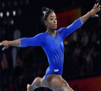Simone Biles Wins World Record 15th Gold In World Gymnastics Championships