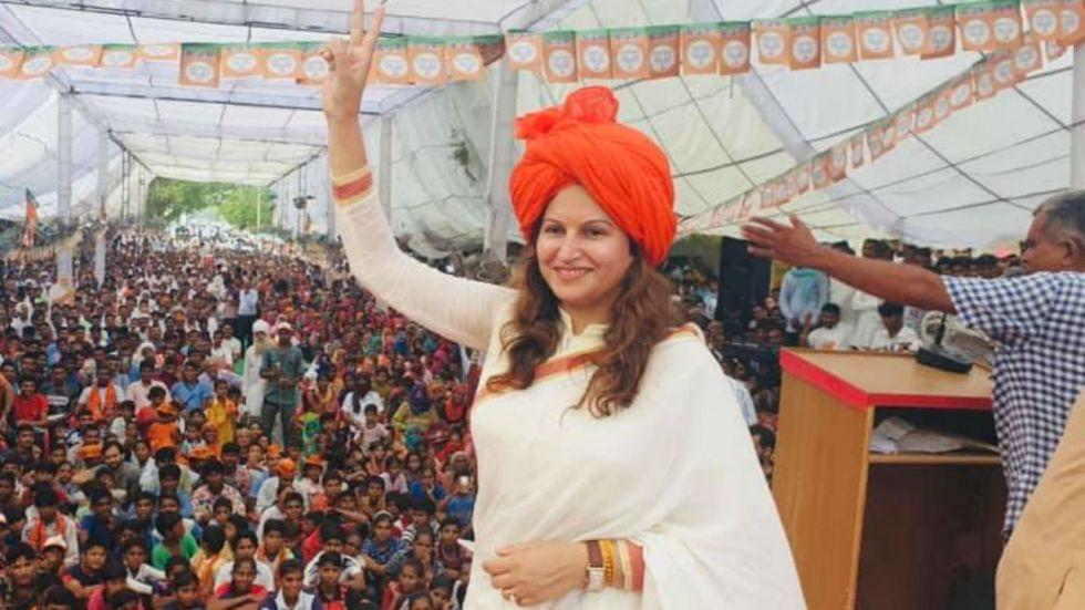Sonali Phogat is pitted against sitting Congress MLA Kuldeep Bishnoi