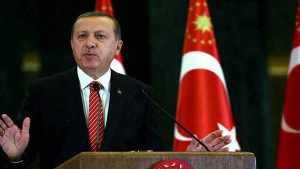 Turkey said Tuesday it was ready for an offensive into northern Syria.