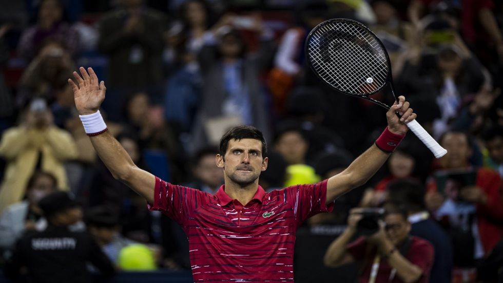 Novak Djokovic won his 76th career title during the Tokyo Open and has made a good start in the Shanghai Masters.