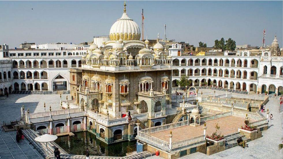 Pakistan is building the corridor from the Indian border to the Gurdwara Darbar Sahib in Kartarpur.