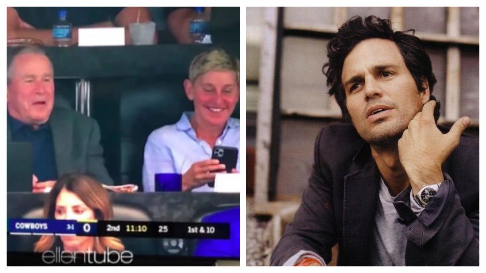 Mark Ruffalo Slams Ellen DeGeneres For Hanging Out With George W. Bush