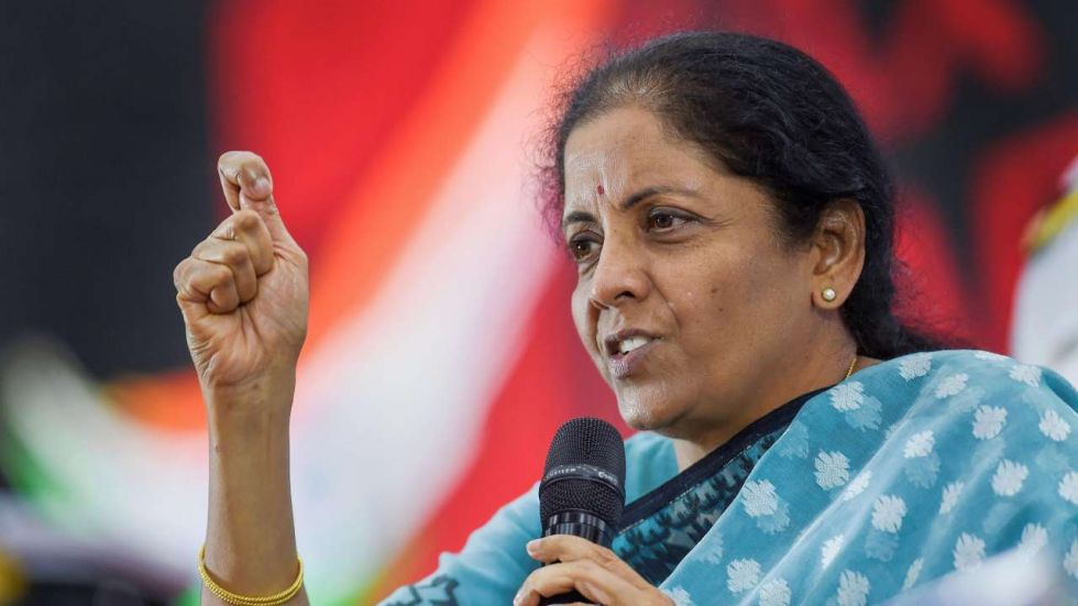 Nirmala Sitharaman on Thursday met the aggrieved customers of Punjab and Maharashtra Co-operative Bank.