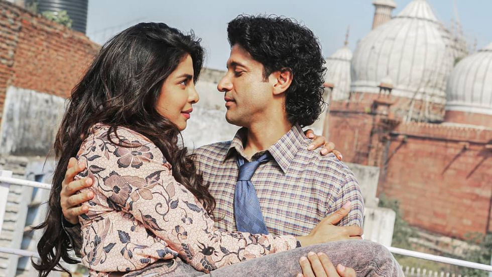 A still from Priyanka and Farhan's The Sky Is Pink