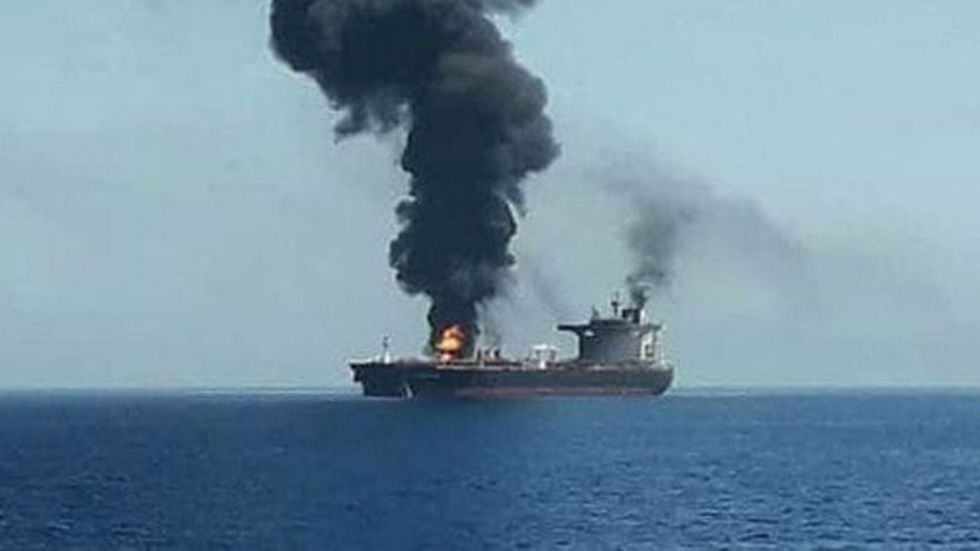 Social media was flooded with pictures of the alleged tanker