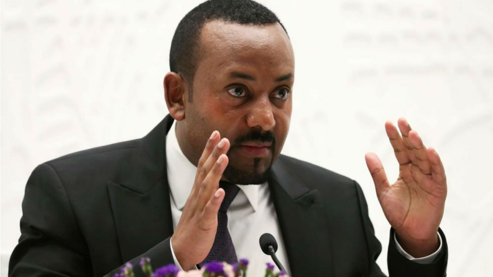 Abiy Ahmed Ali has been awarded for his initiative to resolve the border conflict with neighbouring Eritrea
