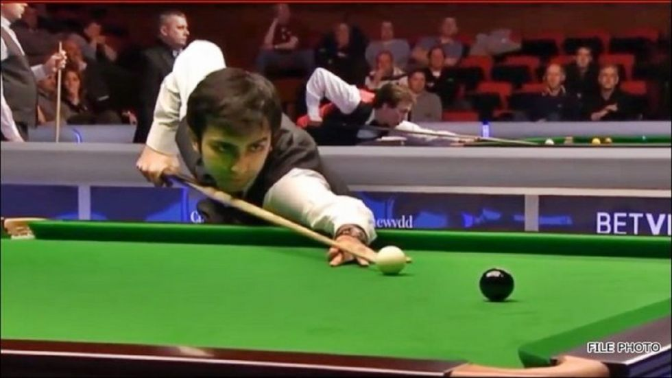 Pankaj Advani tried to make a last dash at narrowing the huge deficit with a break of 262 points but the task was an uphill one for Advani who ultimately conceded defeat to a relentless Kothari