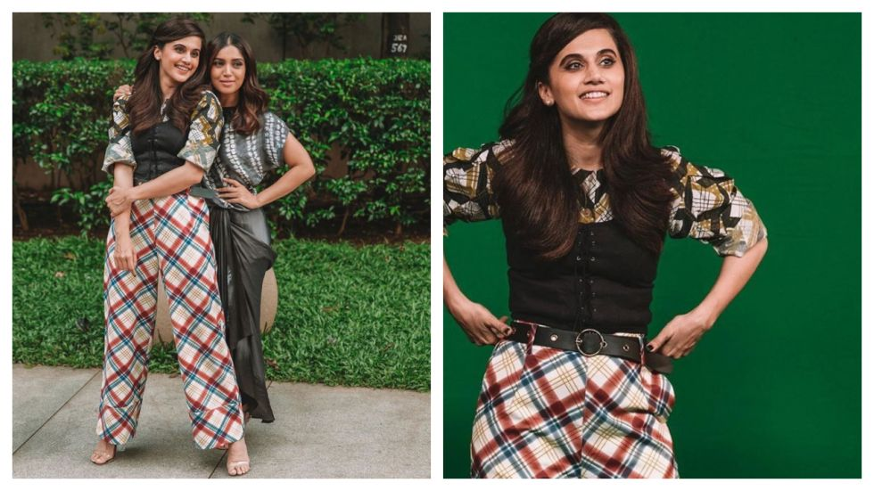 Taapsee Pannu's 'Back-To-School' Inspired Outfit Is A Fashion Disaster