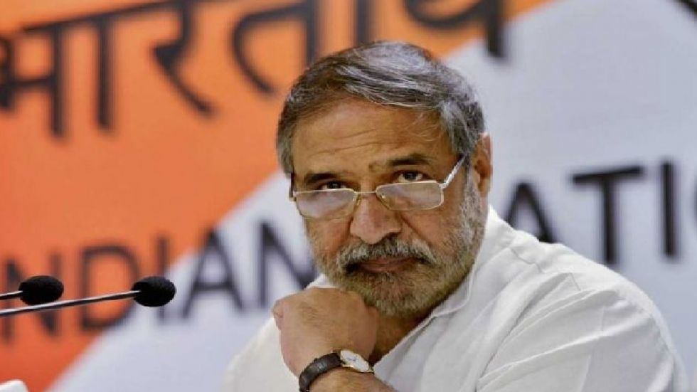 Anand Sharma was India's Commerce and Industry minister during the UPA rule.