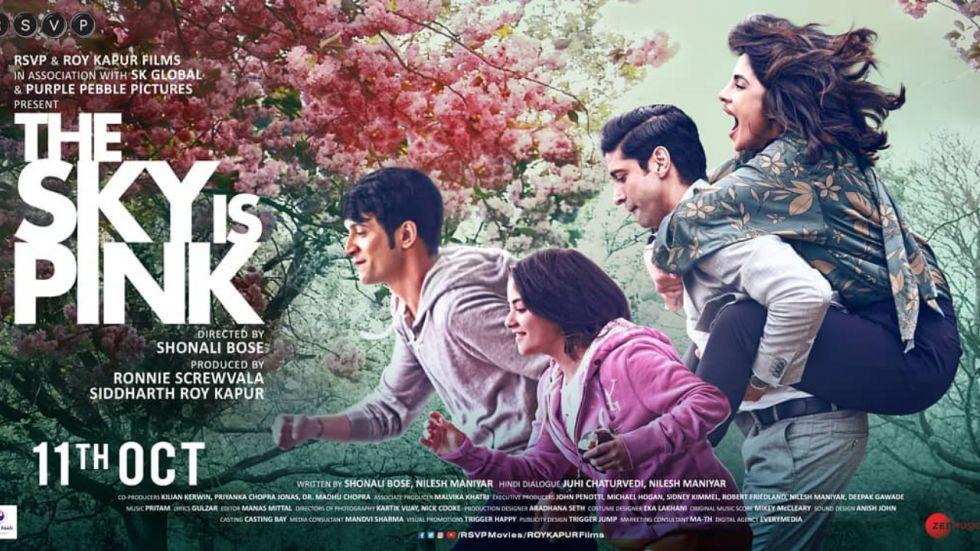 Priyanka Chopra's The Sky Is Pink hit the screens on 11 October.