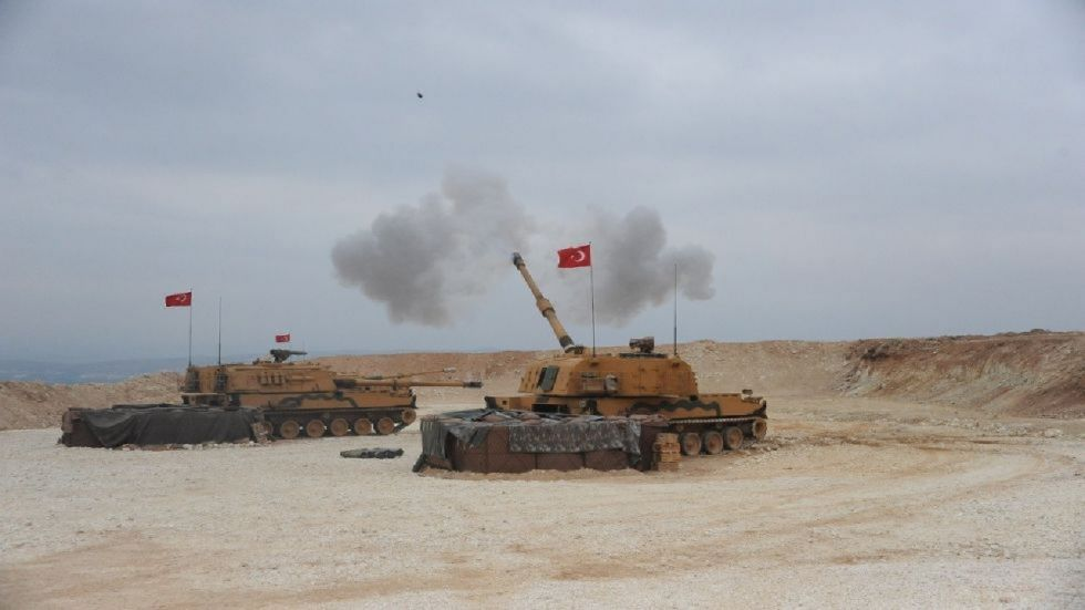 As tensions mount in Syria, Turkish forces faced fierce resistance from US-allied Syrian Kurdish fighters on the third day.