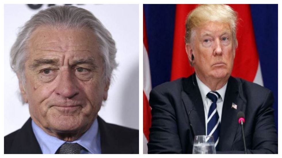 Robert De Niro Says He 'Can't Wait To See Donald Trump In Jail'