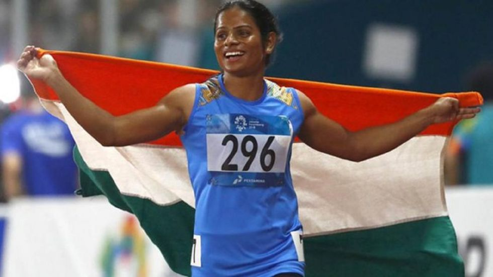 Dutee Chand ended the season on a high with a gold in the 200m after setting the national record in the 100m.