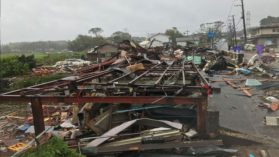 Some 3,76,000 homes were without electricity and that 14,000 lacked running water in Japan after typhoon Hagibis hit the country.