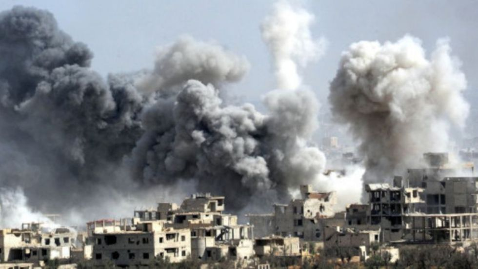 Russia Bombed Four Syria Hospitals In 12 Hours