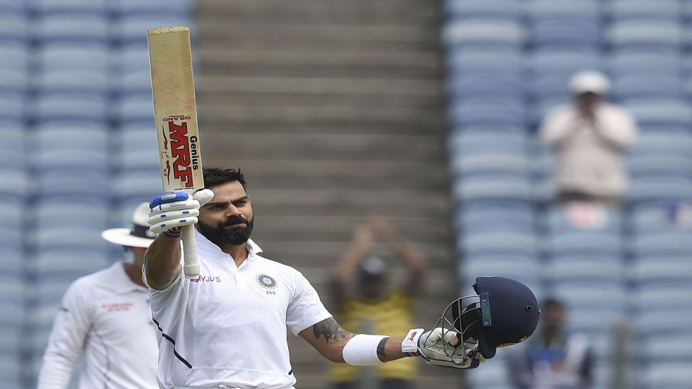 Virat Kohli blasted 254, which is his highest individual score in Tests during the Pune game against South Africa.