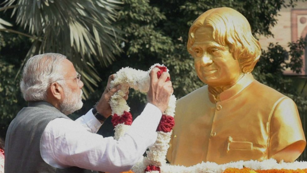 PM Narendra Modi led nation in remembering former President APJ Abdul Kalam
