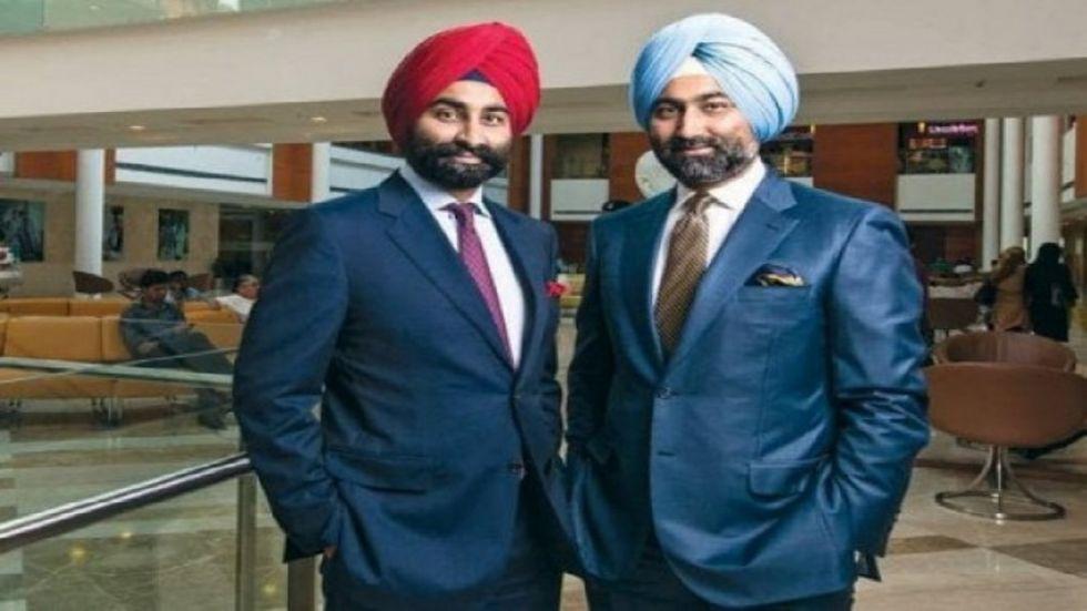 Former Ranbaxy promoters Malvinder Singh and Shivinder Singh.