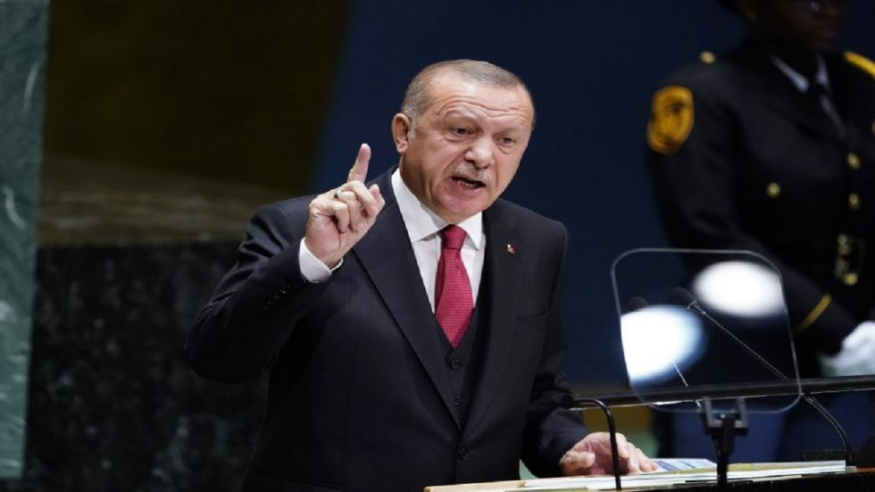 Turkish President Recep Tayyip Erdogan on Tuesday while dismissing a ceasefire in northern Syria said he was not worried over US sanctions.