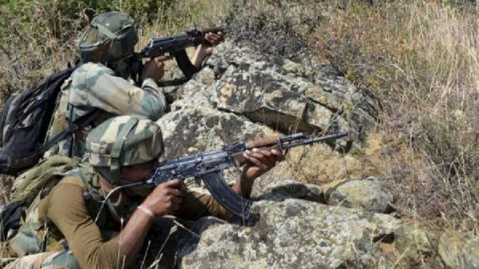 The encounter broke out at Pazalpora area in Anantnag on a specific intelligence provided by the district police.