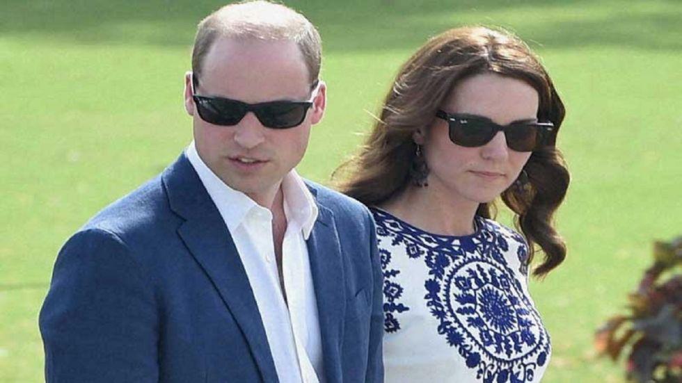 Prince William and  Kate Middleton arrived in Islamabad for their five-day maiden visit to Pakistan on Monday night.