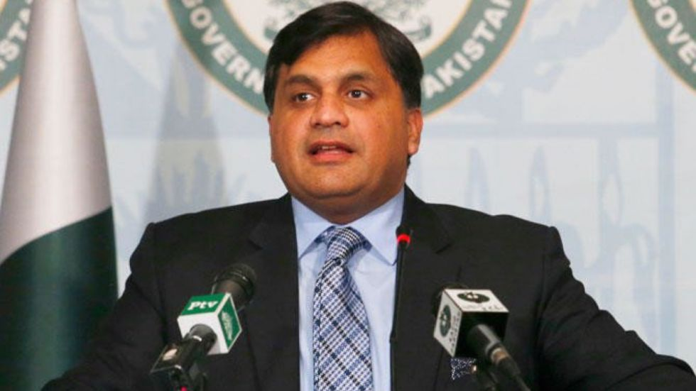 Pakistan's Foreign Office spokesperson Mohammad Faisal