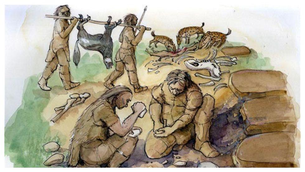 Neanderthal Activity