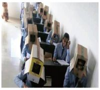 Boxed And How! Karnataka College's Bizzare Idea To Curb Cheating Goes Viral