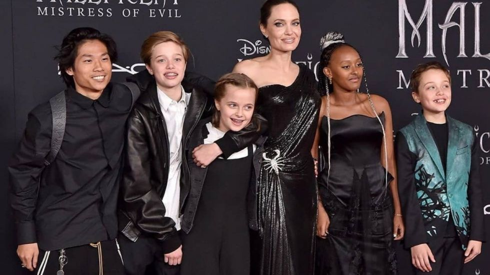 Angelina Jolie Reveals None Of Her Six Kids Want To Be Actors