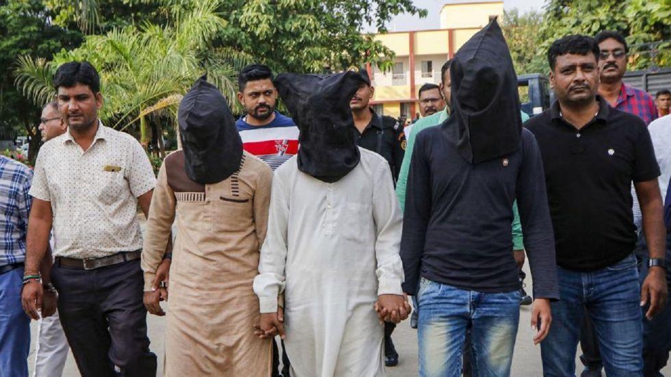 The three persons detained by the ATS were identified as Faizan Yunus Bhai, Maulana Mohsin Sheikh and Rashid Ahmed Khursheed Ahmed Pathan.