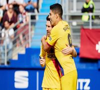 Lionel Messi, Luis Suarez And Antoine Griezmann Inspire Barcelona To Thumping Win